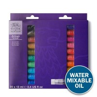 Artisan Water Mixable Oil Paint 20 x 12ml Tube Set